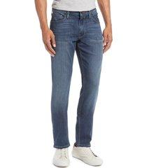 men's paige transcend - federal slim straight leg jeans, size 28 - blue