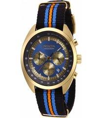 reloj invicta 29990 multicolor nylon
