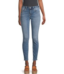 true religion women's jennie big t skinny ankle jeans - blue - size 32 (10-12)