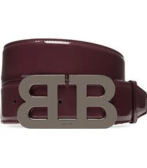mirror b leather belt