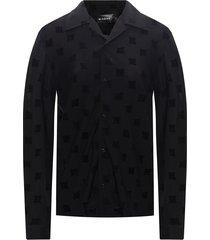 'velour monogram' velvet shirt