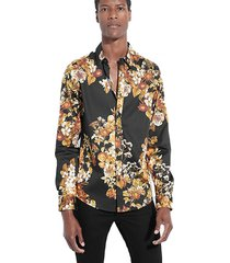 camisa ls luxe lost angels shirt negro guess