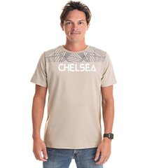 camiseta chelsea areia - kanui