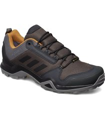 terrex ax3 gtx shoes sport shoes running shoes brun adidas performance