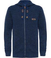 chaquetas hombre alamo blend-pro hoody jacket azul grisaceo lippi