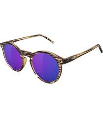 óculos de sol glassy tim tim premium signature honey blue caramelo