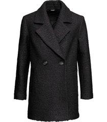 cappotto corto oversize (nero) - bodyflirt