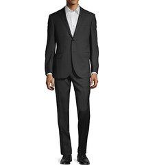 academy standard-fit herringbone suit