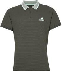 freelift tennis polo shirt aeroready polos short-sleeved grön adidas performance