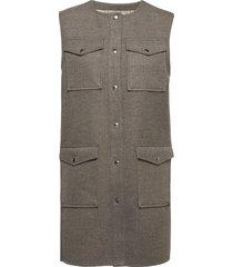 lr-lomilla vests knitted vests grijs levete room