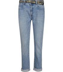 stella mccartney belted jeans