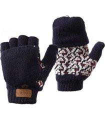 guantes mini nordic glove mitts azul noche lippi