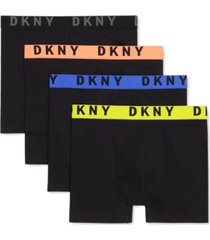 dkny men's 4-pk. cotton stretch boxer briefs