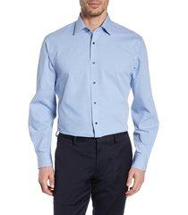 men's nordstrom men's shop tech-smart traditional fit check stretch dress shirt
