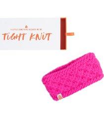 sh*t that i knit the bliss merino wool headband, size one size - pink