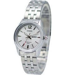reloj kcasltp 1335d 7a casio-plateado