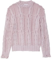 mitzy sweater in blushing