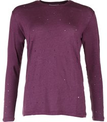 iro t-shirt marvina bordo rood