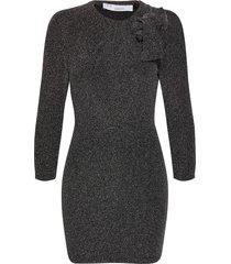 perk knälång klänning svart iro