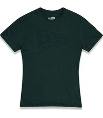 t-shirt new era regular new era brasil verde militar