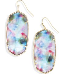 women's kendra scott faceted danielle drop earrings