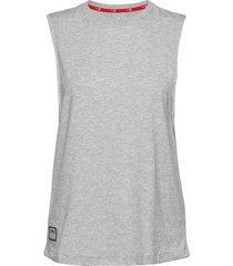 al loose fit tank t-shirts & tops sleeveless grå puma
