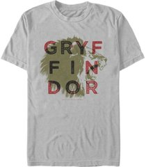 fifth sun harry potter men's gryffindor lion roar short sleeve t-shirt