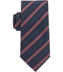 boss men's striped traveler tie
