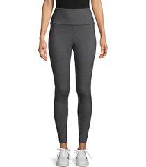 matty m women's high-rise leggings - charcoal - size xs