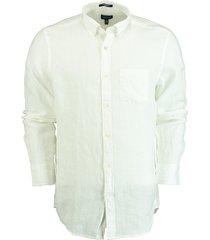gant overhemd wit 100% linnen 3012420/110