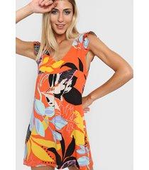 vestido naranja nano oriana