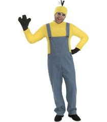 buyseasons men's minions kevin - jumpsuit costume