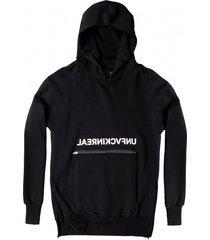 bluza hoodie ex ove unf black