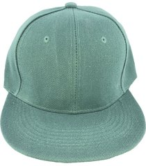 gorra verde fight for your right gaviota visera plana gabardina