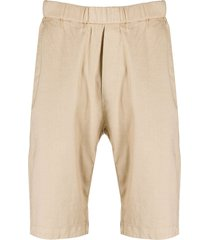 barena elasticated-waist bermuda shorts - neutrals