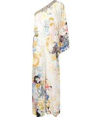 camilla one-shoulder paisley-print jumpsuit - multicolour