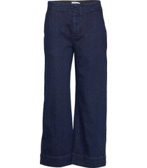 koluta trousers vida jeans blå marimekko