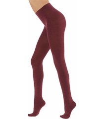 calzedonia - soft modal and cashmere blend tights, s/m, violet, women