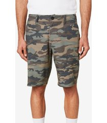 men's locked slub shorts