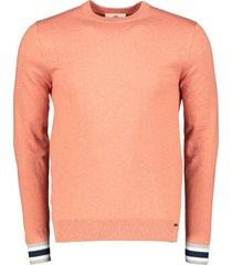 gentiluomo pullover - slim fit - oranje