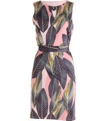 k-design jurk mouwloos & print groen
