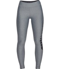 lycra under armour heatgear graphic para mujer - gris