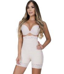 fajas panty cachetero para mujer - moldeate fajas 3017 - beige