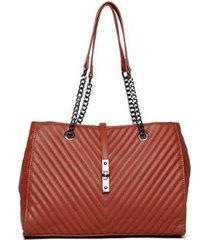 bolsa nice bag handbag matelassê alça corrente feminina