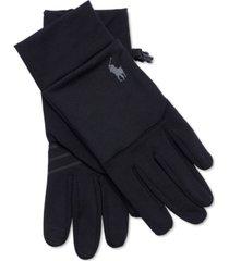 polo ralph lauren men's washable commuter touch gloves