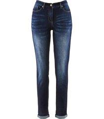 jeans elasticizzati boyfriend con cinta comoda (nero) - bpc bonprix collection