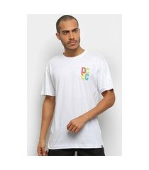 camiseta dc shoes hold hands masculina
