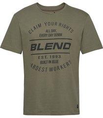 tee t-shirts short-sleeved grön blend