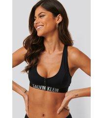 calvin klein bikiniöverdel - black