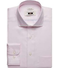 joseph abboud pink textured dress shirt